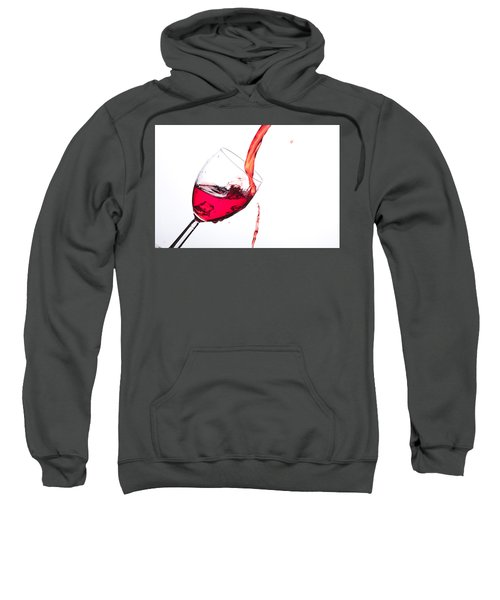 No Wine Was Harmed During The Making Of This Image Sweatshirt