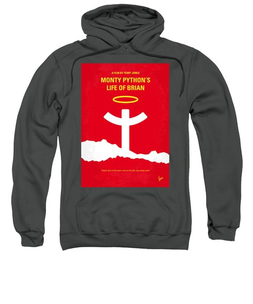 No182 My Monty Python Life Of Brian Minimal Movie Poster Sweatshirt