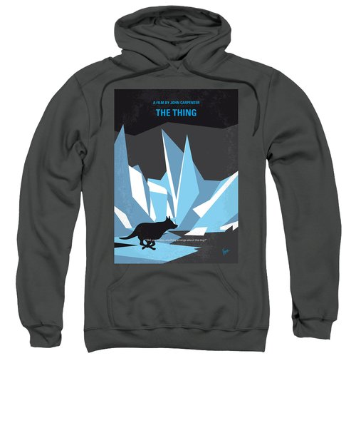 No466 My The Thing Minimal Movie Poster Sweatshirt