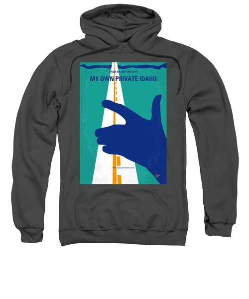 No472 My Own Private Idaho Minimal Movie Poster Sweatshirt