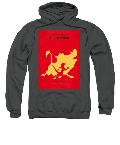 No512 My The Lion King Minimal Movie Poster Sweatshirt by Chungkong Art