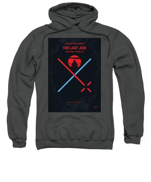 No940 My Star Wars Episode Viii The Last Jedi Minimal Movie Poster Sweatshirt