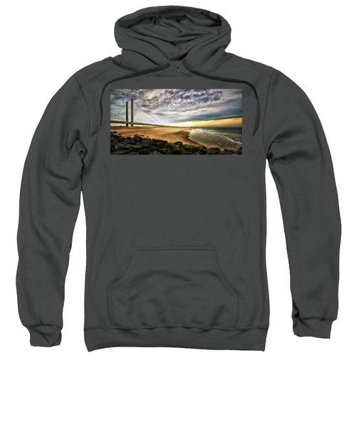 North Beach At Indian River Inlet Sweatshirt