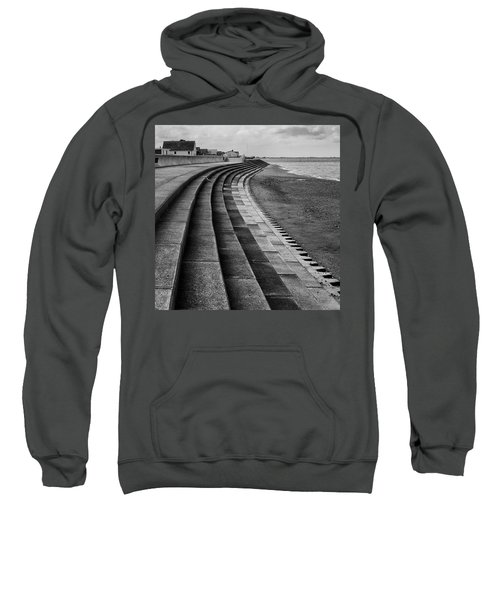 North Beach, Heacham, Norfolk, England Sweatshirt by John Edwards