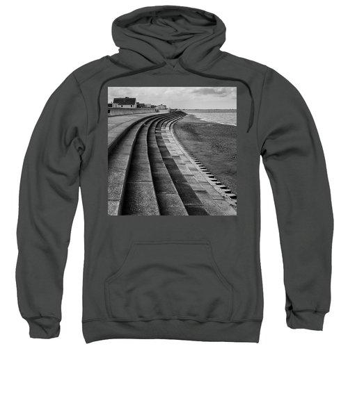 North Beach, Heacham, Norfolk, England Sweatshirt