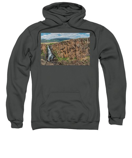 North Clear Creek Falls, Creede, Colorado 2 Sweatshirt