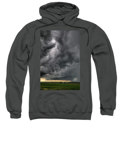 North Dakota Thunderstorm Sweatshirt