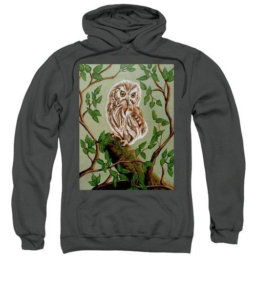 Northern Saw-whet Owl Sweatshirt