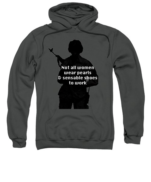 Not All Women Sweatshirt by Melany Sarafis