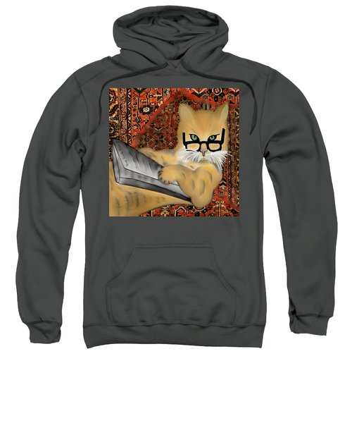 Not Your Average Persian Cat Sweatshirt