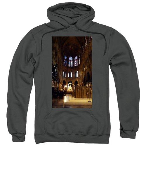 Notre Dame De Paris Sweatshirt by Takaaki Yoshikawa
