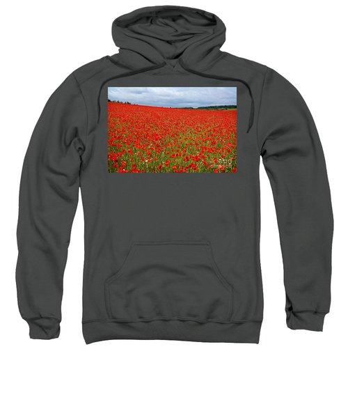 Nottinghamshire Poppy Field Sweatshirt
