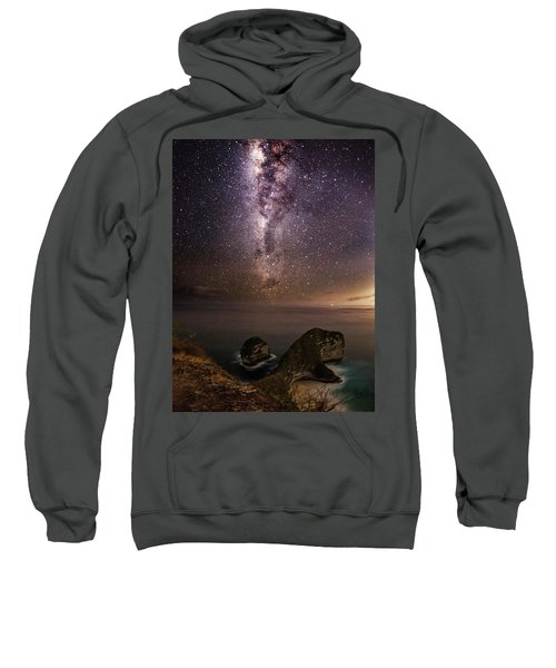 Nusa Penida Beach At Night Sweatshirt
