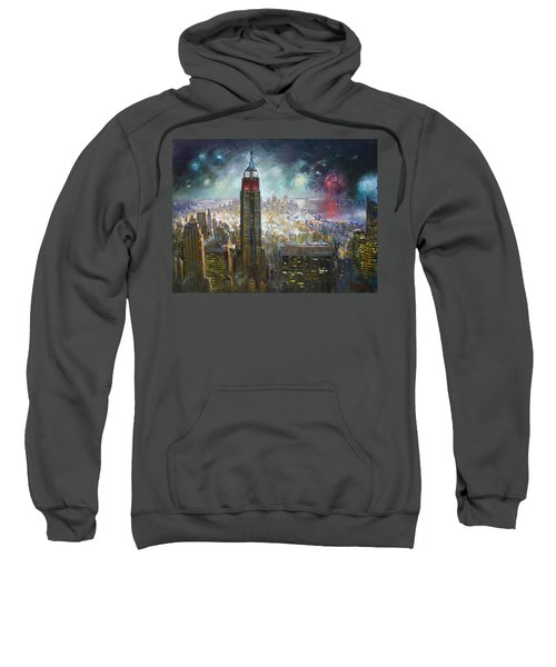 Nyc. Empire State Building Sweatshirt