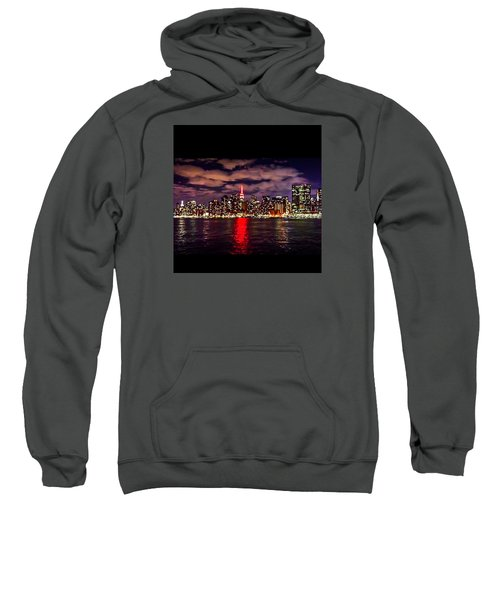 Nyc Skyline Sweatshirt by Diya Baichu