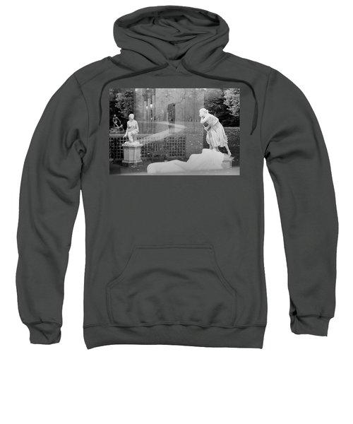 Nyc Whispering Statues Sweatshirt
