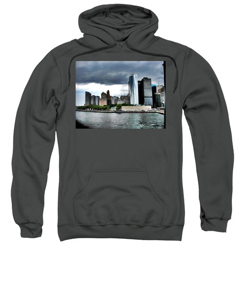 Nyc3 Sweatshirt by Donna Andrews