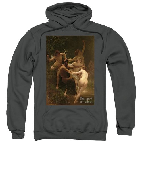 Nymphs And Satyr Sweatshirt