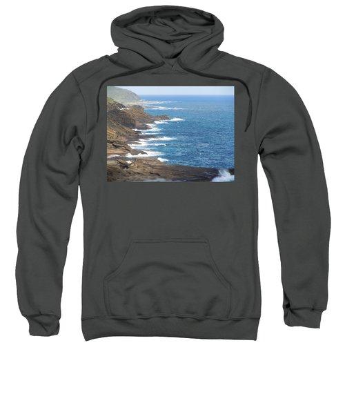 Oahu Coastline Sweatshirt