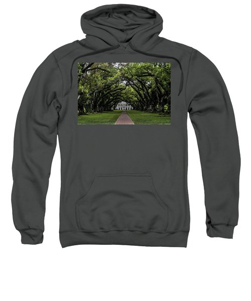 Oak Alley Plantation, Vacherie, Louisiana Sweatshirt