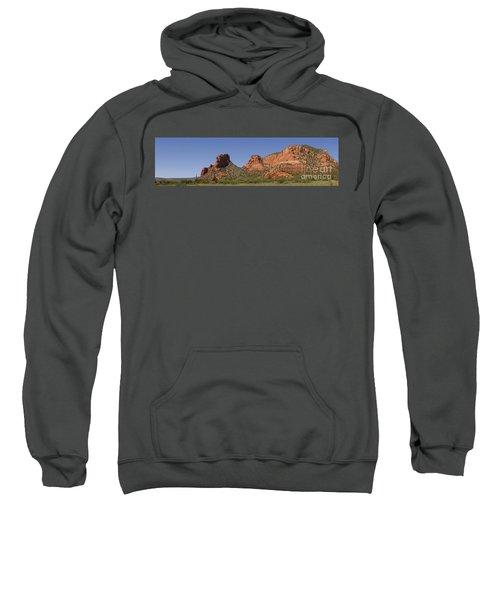 Oak Creek Panorama In Red Sweatshirt