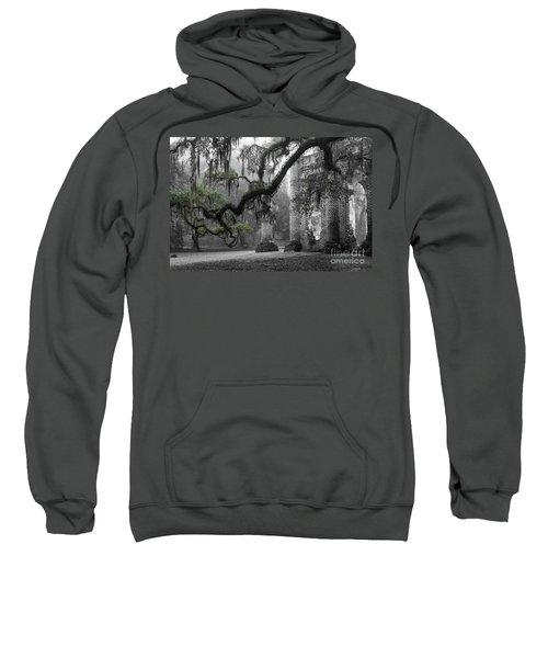 Oak Limb At Old Sheldon Church Sweatshirt