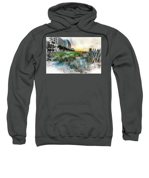 Ocean Drive Easter Sunrise Sweatshirt