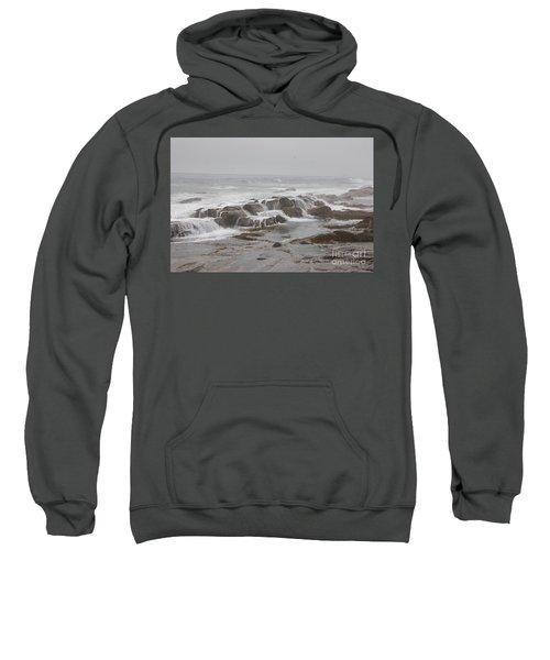 Ocean Waves Over Rocks Sweatshirt