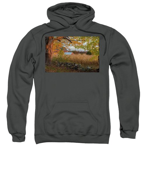 Sweatshirt featuring the photograph October Morning 2016 by Bill Wakeley