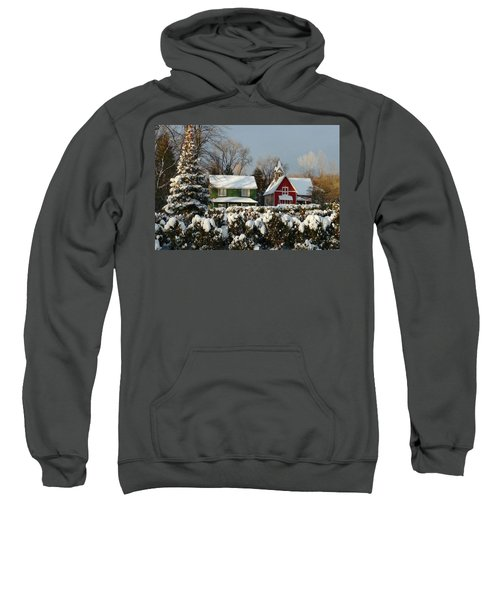 October Snow Sweatshirt