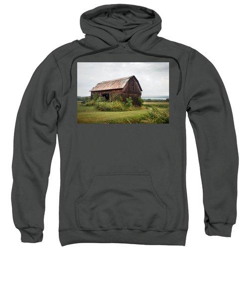 Old Barn On Seneca Lake - Finger Lakes - New York State Sweatshirt
