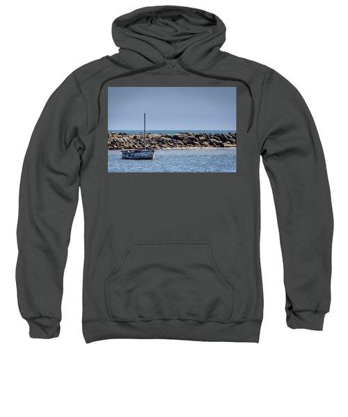 Old Boat - Half Moon Bay Sweatshirt