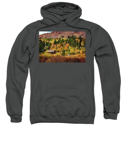 Old Cabin In Hope Valley Sweatshirt
