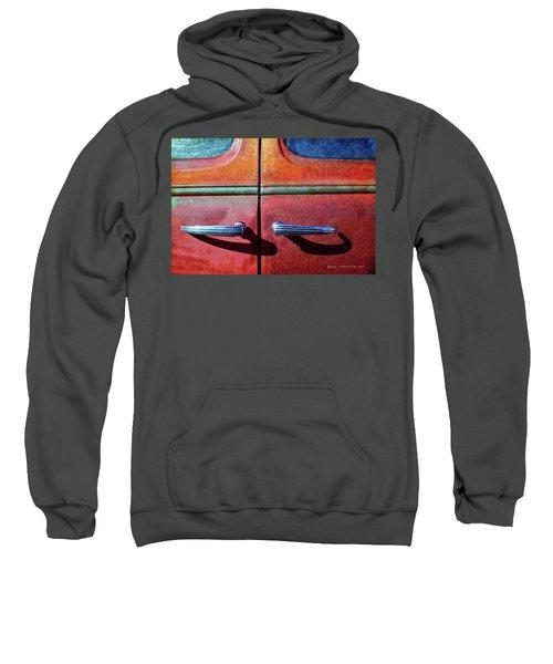 Old Car Doors 1 Sweatshirt