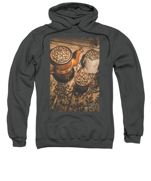 Old Coffee Brew House Beans Sweatshirt