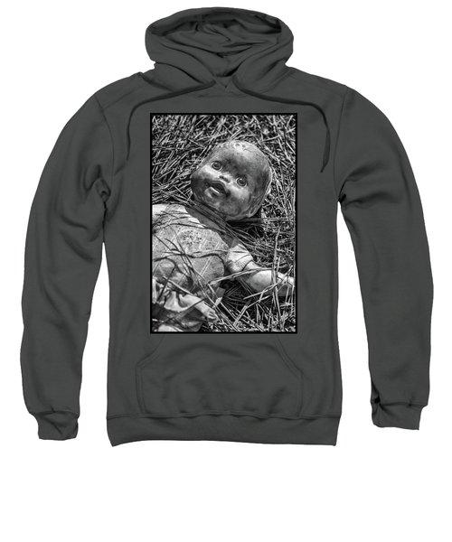 Old Dolls In Grass Sweatshirt