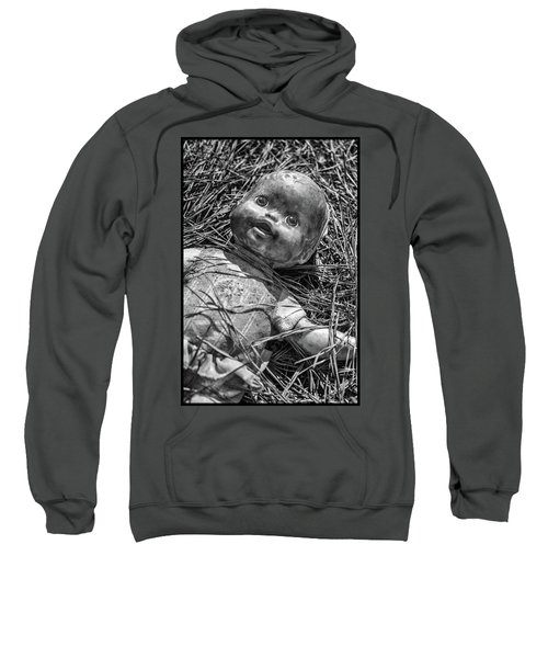 Old Dolls In Grass Sweatshirt