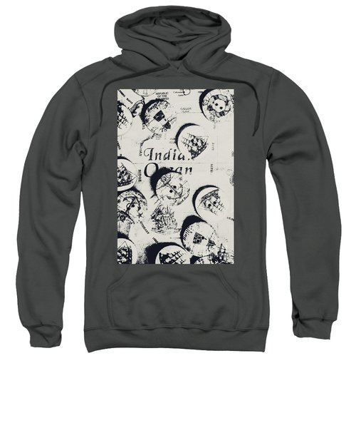 Old East India Trading Routes Sweatshirt
