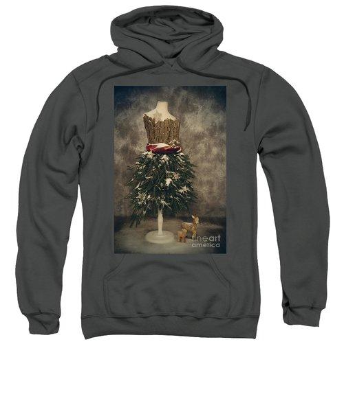 Old Fashioned Christmas Sweatshirt