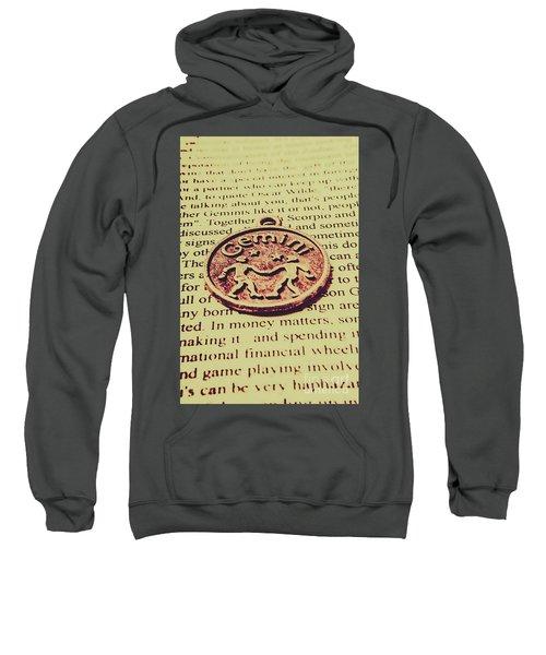 Old Horoscope Of Gemini Sweatshirt