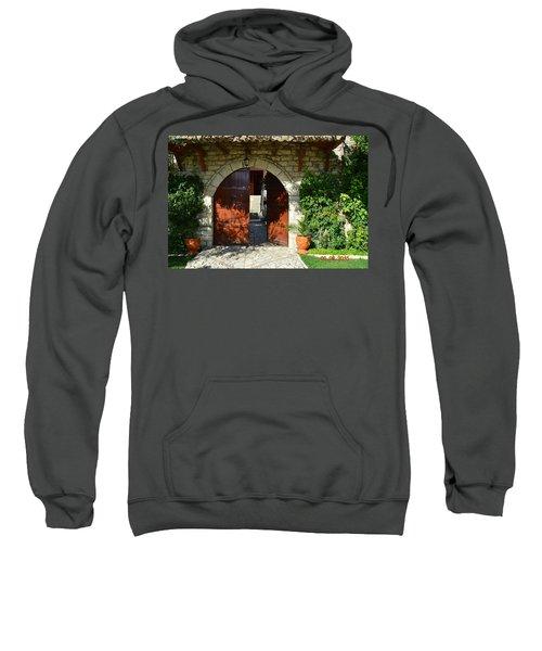 Old House Door Sweatshirt