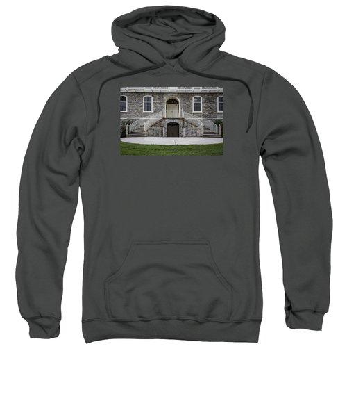 Old Main Penn State Stairs  Sweatshirt by John McGraw