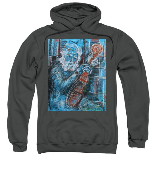 Old Man's Violin Sweatshirt