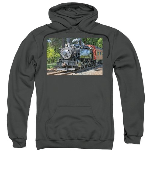 Sweatshirt featuring the photograph Old Number 10 by Jim Thompson