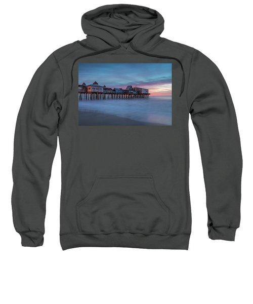Old Orcharch Beach Pier Sunrise Sweatshirt