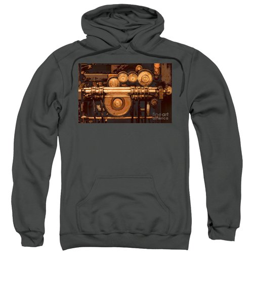 Old Printing Press Sweatshirt