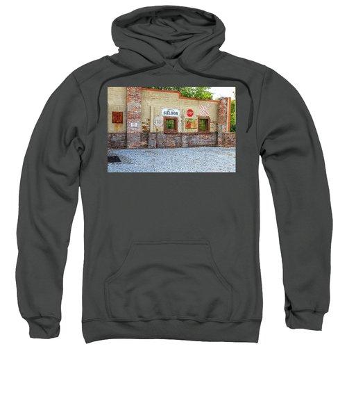 Old Saloon Wall Sweatshirt
