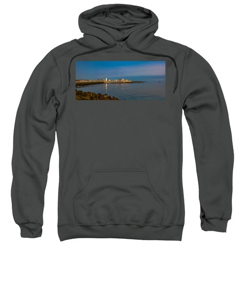 Old Scituate Light From The Jetty Sweatshirt