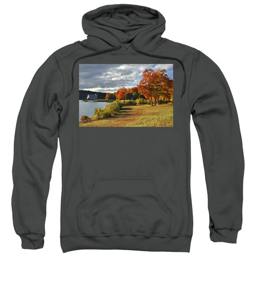 Old Stone Church Autumn Glow Sweatshirt