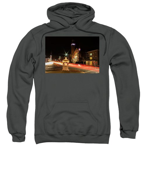 Old Town Hall Light Trails Sweatshirt